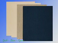 Sandpaper Set, 11x9 1/8in Sheets, Assorted Grits, Emery Sand Paper