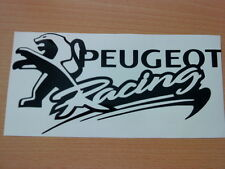 peugeot racing vinyl car stickers decals graphics sport gti 106 206 306 307 rear
