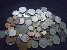 More details for job lot of 703 grams of antique/vintage coins with silver  ref 115