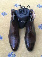 Berluti Mens Brown Leather Chelsea Dealer Boots UK 6 US 7 EU 40