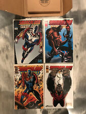 Youngblood Strikefile 1993 Image Comic Book Lot Rob Liefeld #1 2 3 4 VF NM
