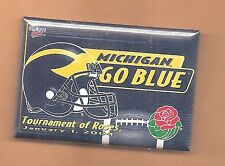 Michigan Wolverines 2004 Rose Bowl Original Officially Licensed Button