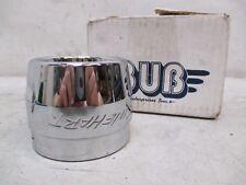 Rinehart Harley Davidson Racing Exhaust Classic Chrome End Cap 7808-3011
