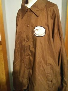Vintage 21st CENTURY GENETICS big patch logo jacket RARE advertising