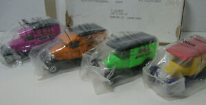 NIB Kelloggs Collectible Matchbox Cars Trucks Set of Four Die Cast Vintage 1979