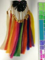 Hair Extension Colour Ring Remy Bright Colours