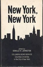 New York New York : Selections From Columbia News Service 1981 Paperback