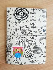 Owl2 Travel Passport Holder Cover Case Bag Wallet Ticket Card Document Protector