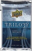 1-2009-10 UPPER DECK TRILO3Y ICE SCRIPTS AUTOGRAPH HOBBY HOT PACK GUARANTEE