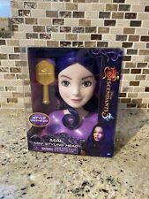 Disney Descendants 3 Mal Styling Mini Head With Brush - Hair Style