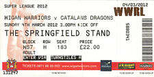 Rugby League Tickets & Stubs