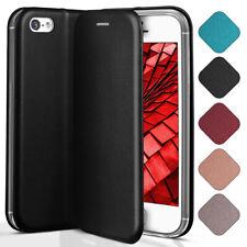 Booklet Etui für Apple iPhone 5S / iPhone 5 Schutz Hülle Handy Tasche Flip Case