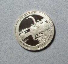 2014 Proof Silver Florida Everglades National Park Quarter Dollar
