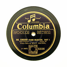 """BILLY MAYERL (Piano Solo) """"Mr. Cinders - Selection"""" (N-) COLUMBIA 5336 [78 RPM]"""