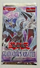 YU-GI-OH! Gladiator's Assault 1 One Booster Pack English