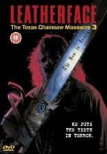 Leatherface - Texas Chainsaw Massacre 3 Gory 1990 Slasher Horror UK DVD III