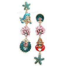 The Little Mermaid Ariel Dangle Earrings Betsey Johnson New with Tags