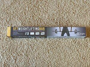 CAP Barbell Standard Weight Lifting Bar 5ft, BRAND NEW