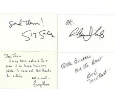 TV Stars Autographed Government Postcard Collection (4) Sales,Thicke,GarryMoore