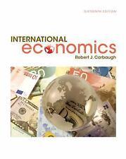 International Economics by Robert Carbaugh (2016, Hardcover)