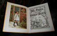 The Prize - Late Victorian Children's Annual - Chromolithographs - Illustrated