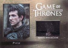Game of Thrones Season 5 Pypar Night Watch Cloak CC5 Relic Card 052/250
