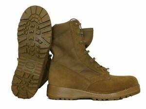 NEW Bates 41800 Men's/KIDS Military Hot Weather Combat Boot BROWN, SIZE 3-WIDE