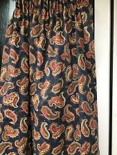 Vintage Paisley Laura Ashley Curtains