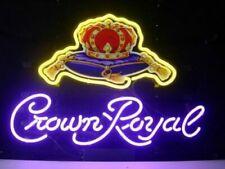 "New Crown Royal Logo Bar Beer Man Cave Bar Neon Light Sign 20""x16"""