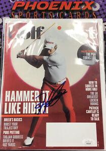 Hideki Matsuyama Auto Autograph Signed GOLF Digest Full Magazine JSA Coa