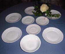 9 Teilige Porzellan Geschirre 5 Dessertteller 3 Untertassen 1 Müslischale