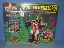 POWER RANGERS MIGHTY MORPHIN  MMPR THUNDER MEGAZORD BOXED 982 + CRYSTALS