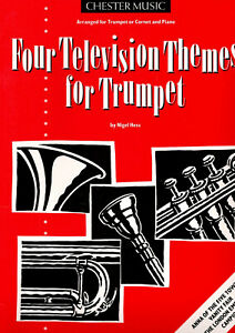 Four television themes for trumpet by Nigel Hess music