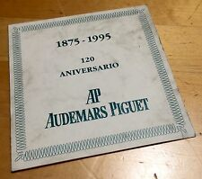 AUDEMARS PIGUET 120th Anniversary Certificate Spanish Royal Oak Steel JUMBO OEM
