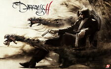"08 The Darkness 2 - Video Hot Game Art 38""x24"" Poster"