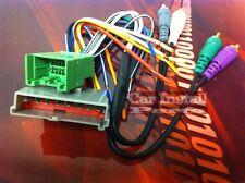 Ford Radio w Amp RCA Integration Wire Harness 1995-98