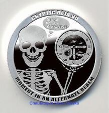 1 OZ CRYPTIC DEJA VU PROOF LIKE/CHAUTAUQUA SILVER WORKS/LIMITED EDITION OF 200