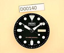 NEW SEIKO BLACK DIAL HANDS MINUTE TRACK SET SEIKO 7S26 0020 SKX007 WATCH D00140
