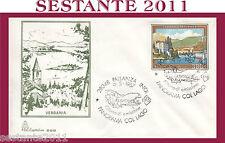 ITALIA FDC CAPITOLIUM 608  VERBANIA 1987 ANN. PALLANZA MEDIA CONSERVAZIONE H436