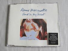 Alanis Morissette HAND IN MY POCKET 1995 RARE Germany Import CD Live Maxi-Single