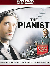 The Pianist (Hd-Dvd, 2008) Brand New Sealed! Free Shipping! Rare!
