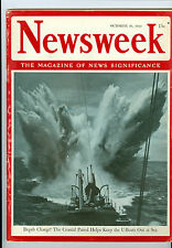 NEWSWEEK  COASTAL PATROL   U BOAT  OCTOBER 26   1942