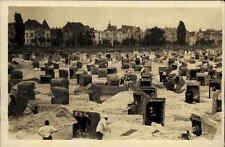 Ahlbeck ~1930/40 Insel Usedom Ostsee Strandleben Promenade Strand Häuser Urlaub