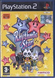 RHYTHMIC STAR ! PLAYSTATION 2 GIOCO PS2 PAL ITA NUOVO SIGILLATO