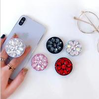 Hot Crystal, Diamond STICKER for socket,Diamond luxury, bling decal phone holder