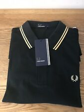 Men's Authentic Fred Perry M3600 C97 Polo Shirt. Size Large Slim Fit.
