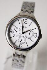 Fossil Damenuhr Armbanduhr BQ3126 Chronograph silber NEU