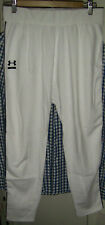 Mens Or Womens Under Armour White Capri Workout Pants Exercise S Small Tapered