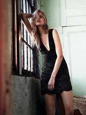 Free People Kristins' Limited Edition Black Beaded Holiday Dress-2
