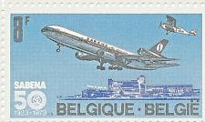 "Belgium Belgique  1973 N° 1675  ""Cinquantenaire de la création de la Sabena"""